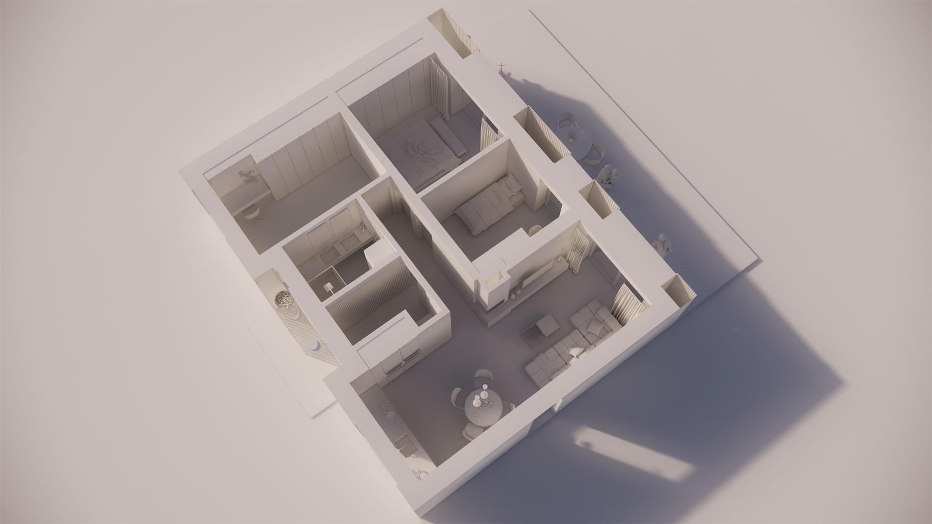Katalógový dom P12 - Prízemné podlažie