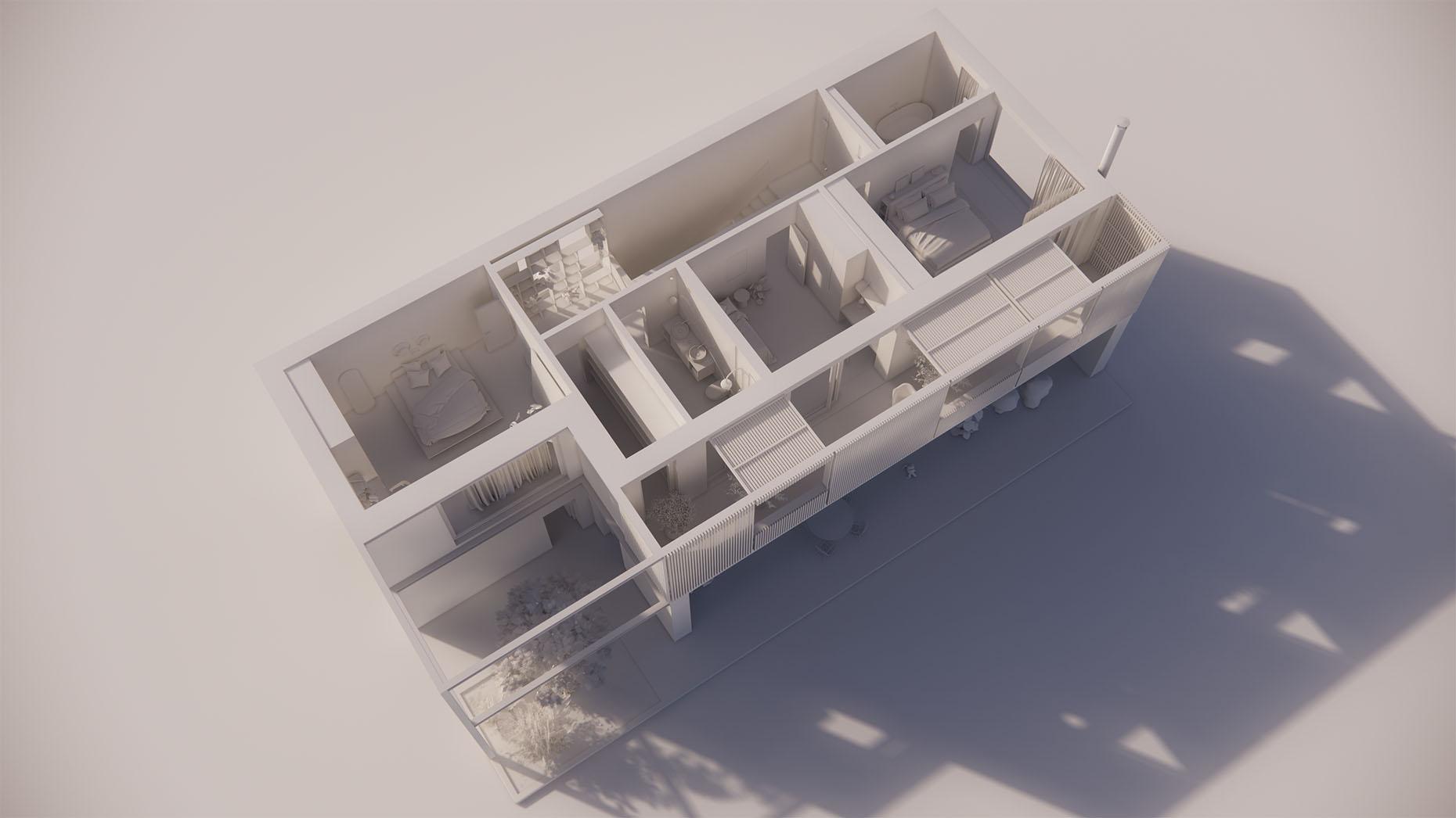 Katalógový dom P22 - Nadzemné podlažie