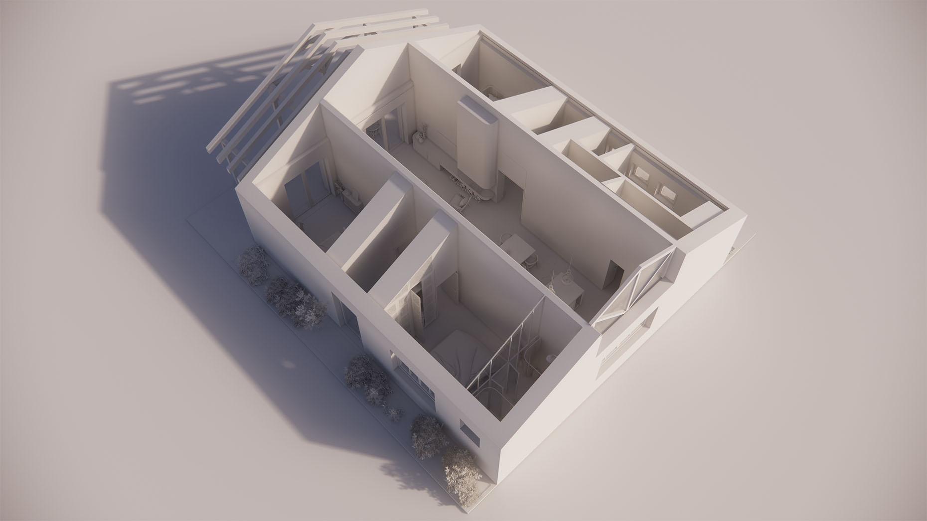 Katalógový dom S14 - Prízemné podlažie