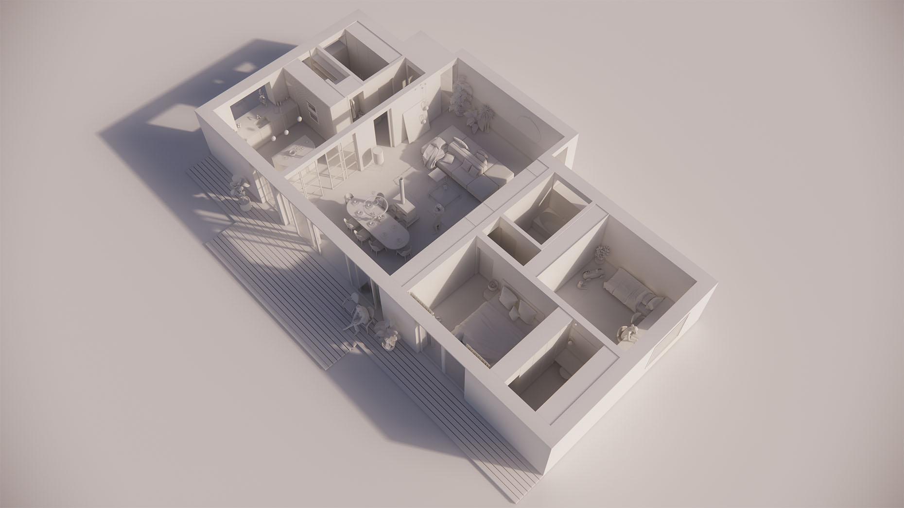 Katalógový dom P113 - Prízemné podlažie