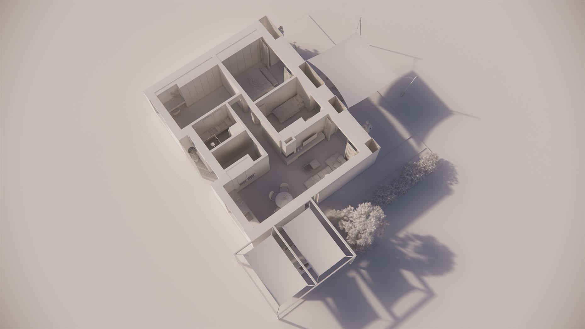 Katalógový dom P12P - Prízemné podlažie