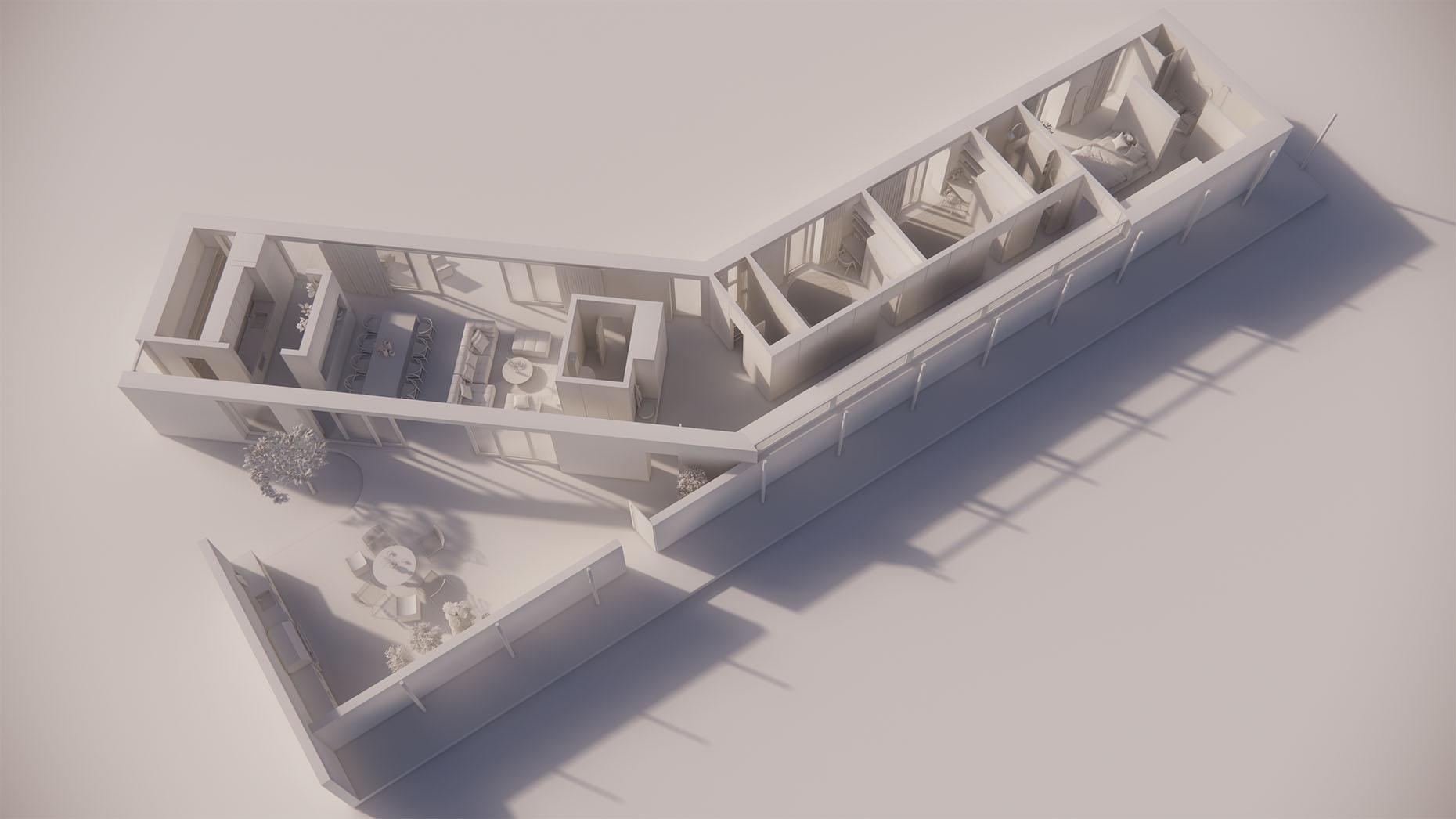 Katalógový dom P111 - Prízemné podlažie