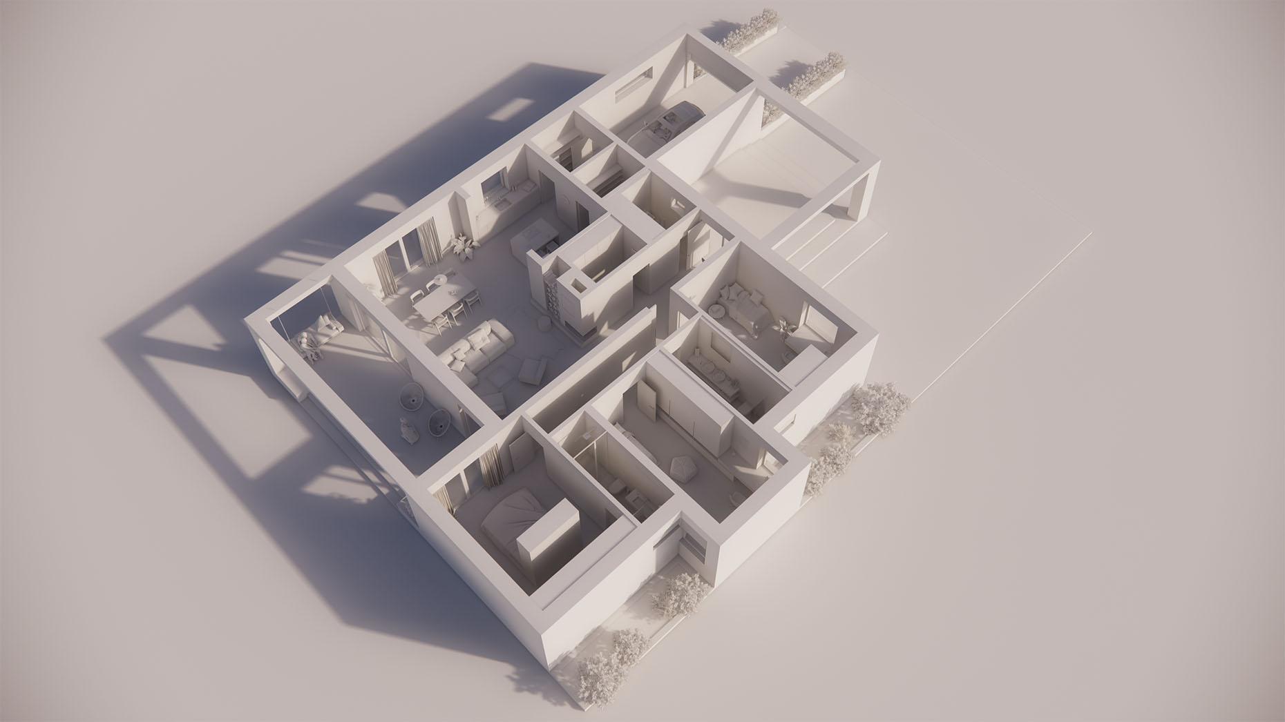 Katalógový dom V15G - Prízemné podlažie