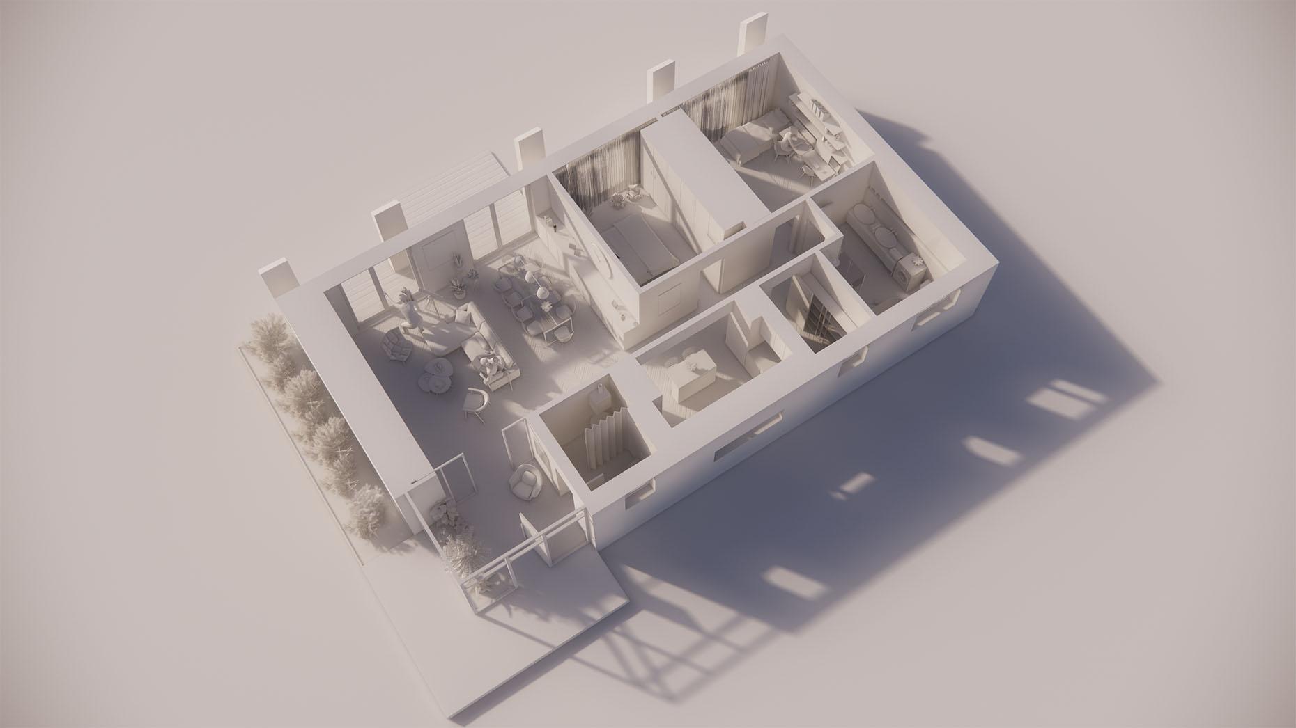 Katalógový dom S15 - Prízemné podlažie