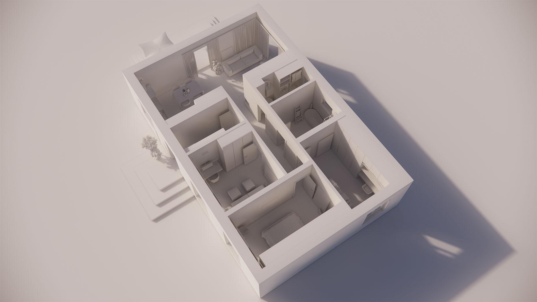Katalógový dom V110 - Prízemné podlažie