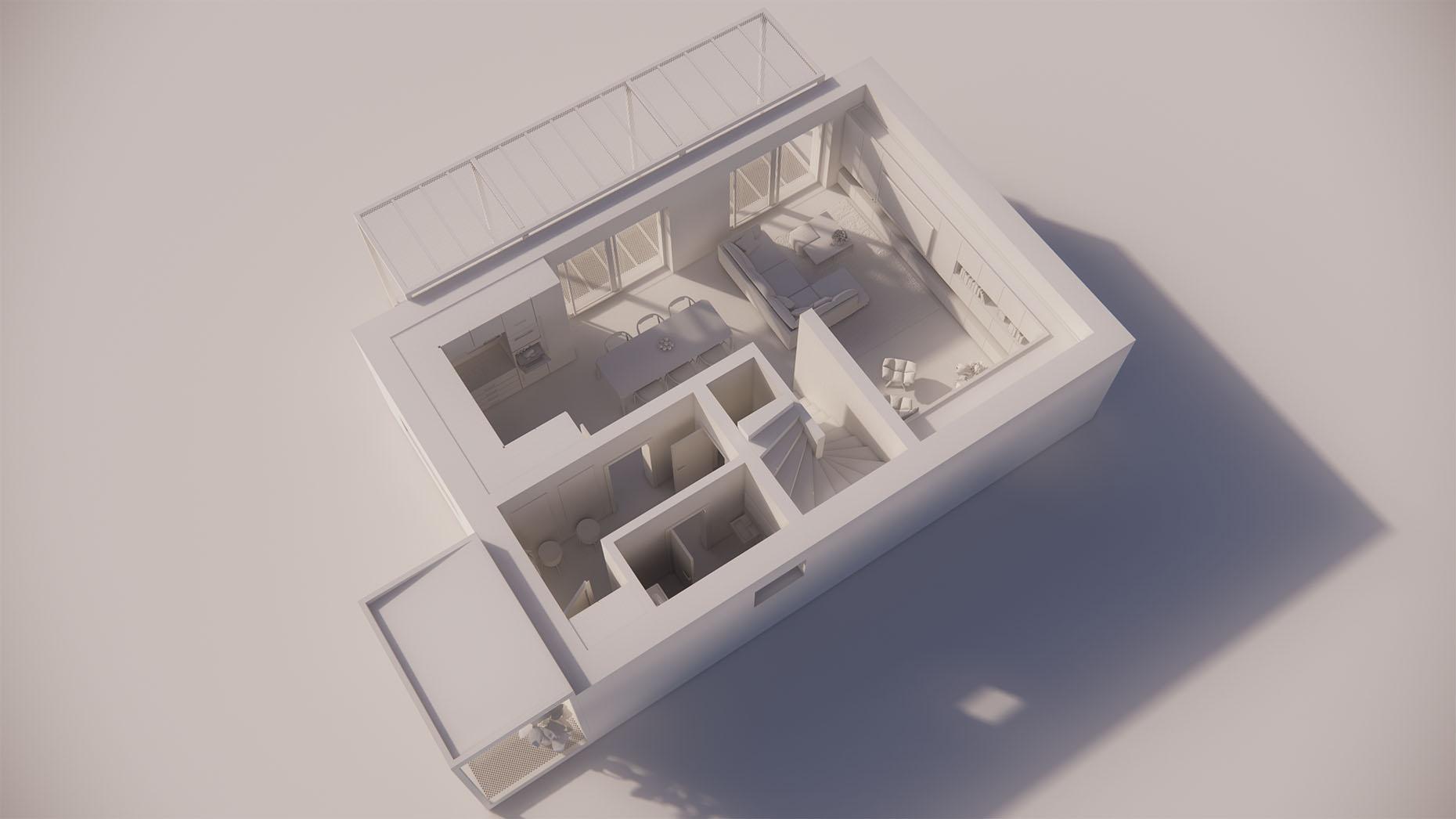 Katalógový dom P23 - Prízemné podlažie