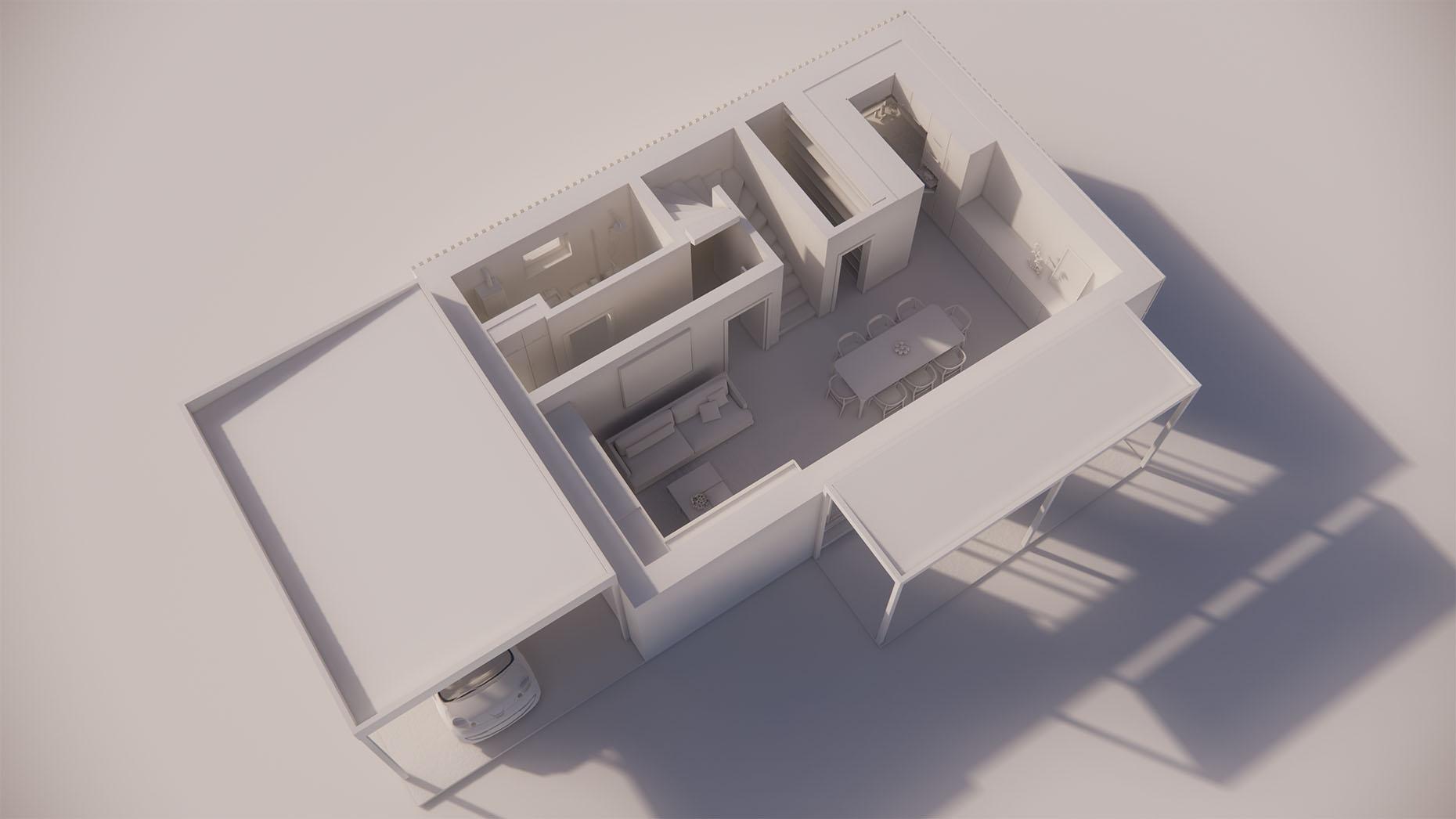 Katalógový dom P24 - Prízemné podlažie