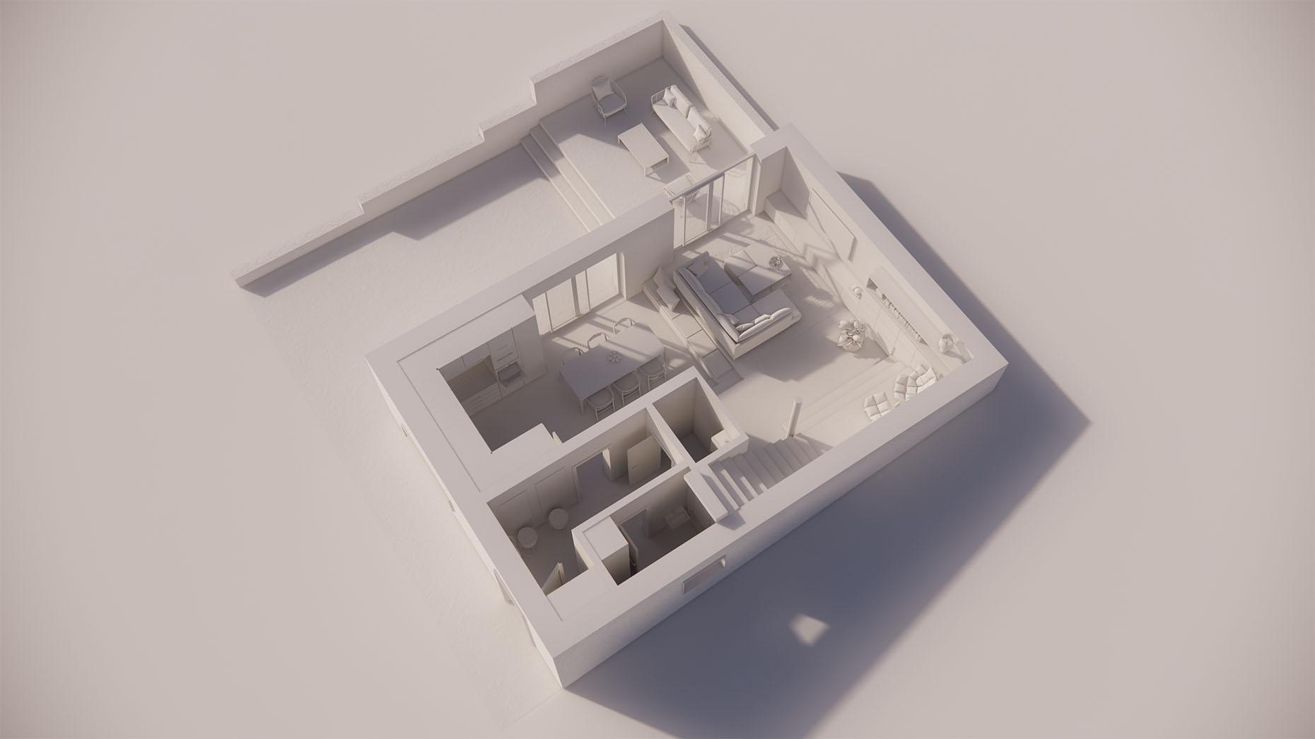 Katalógový dom P25 - Prízemé podlažie
