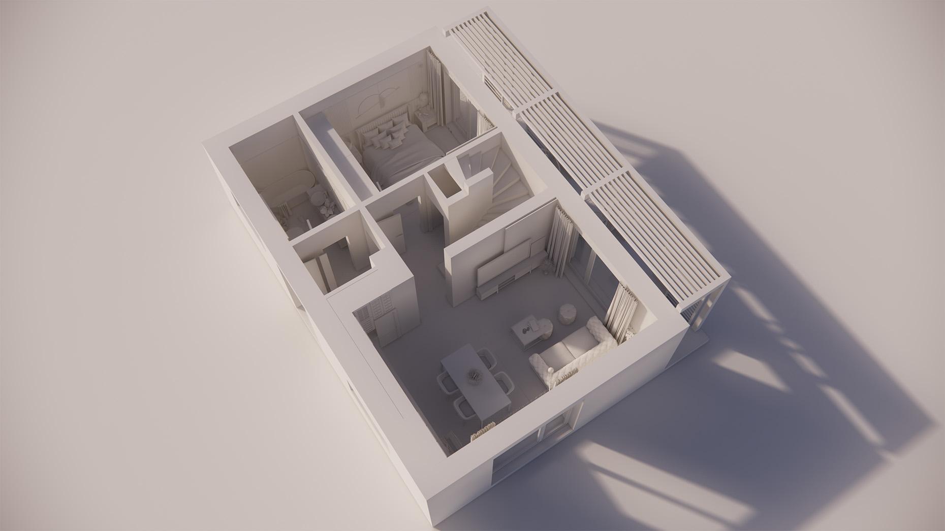 Katalógový dom P21 - Prízemné podlažie