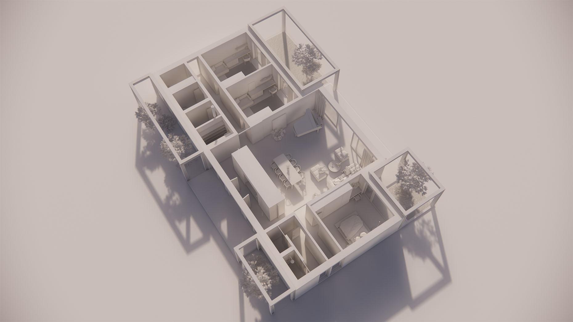 Katalógový dom P18 - Prízemné podlažie