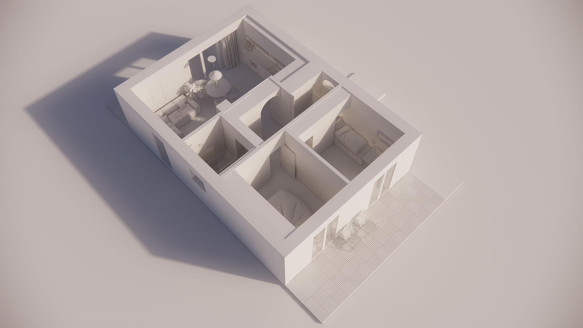 Katalógový dom S13 - Prízemné podlažie