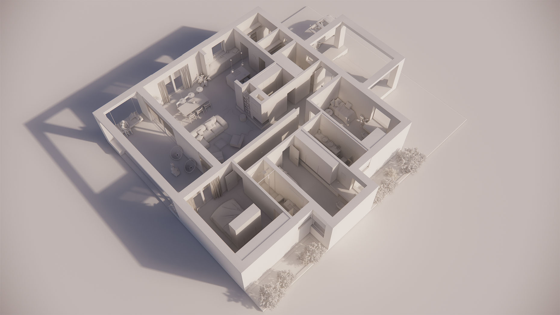 Katalógový dom V15 - Prízemné podlažie