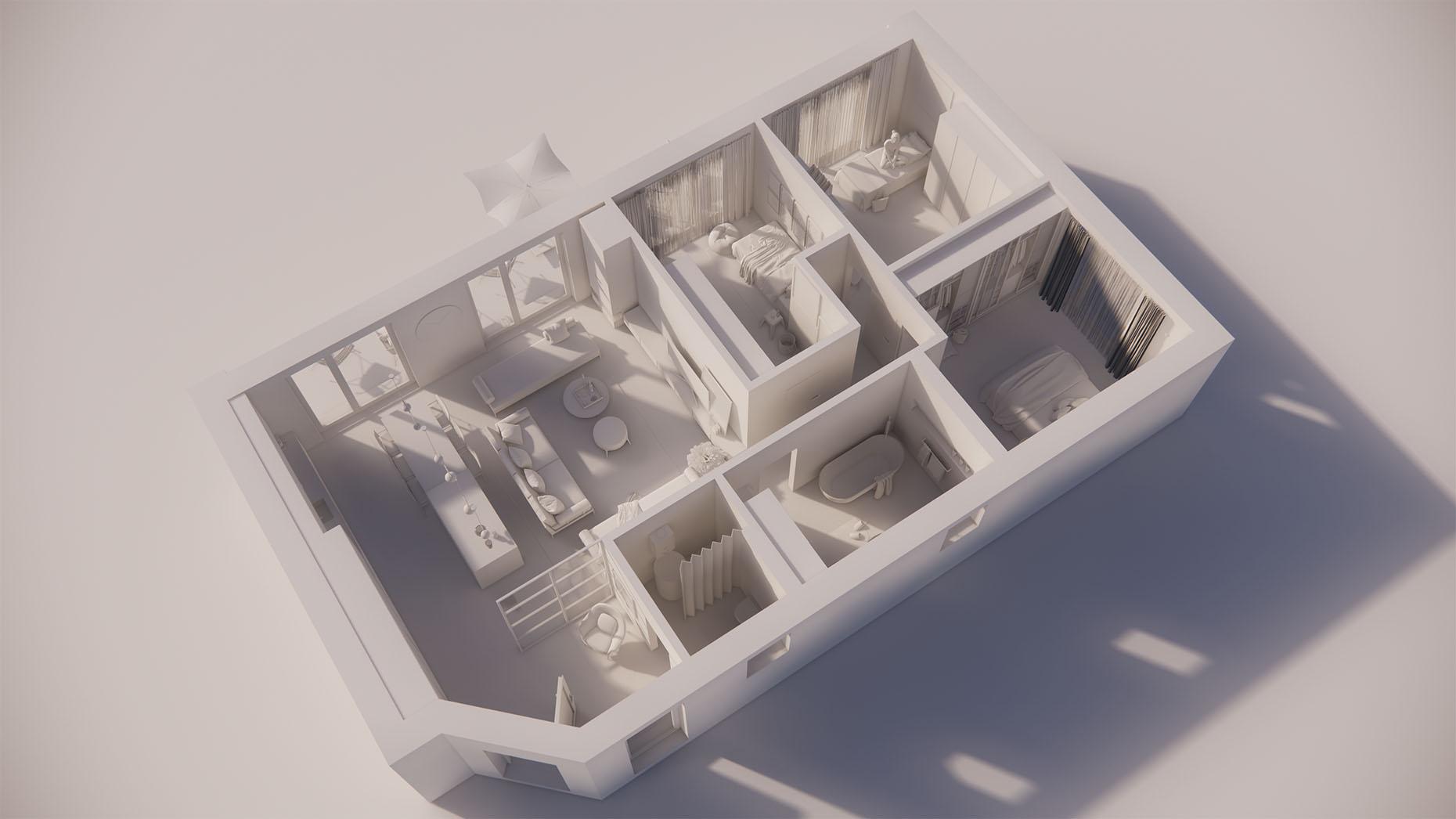 Katalógový dom P13 - Prízemné podlažie