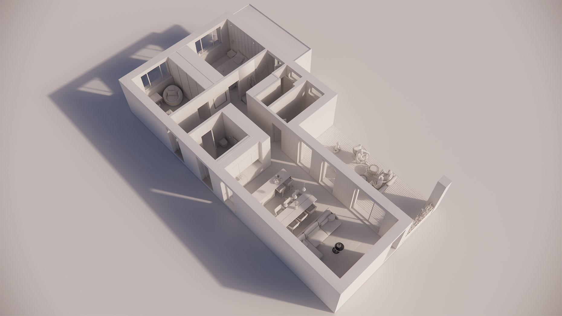 Katalógový dom S11 - Prízmené podlažie