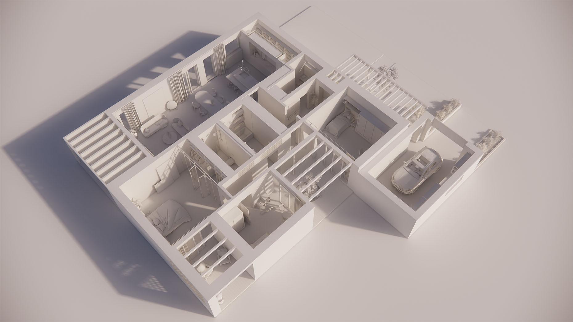 Katalógový dom P17G - Prízemné podlažie