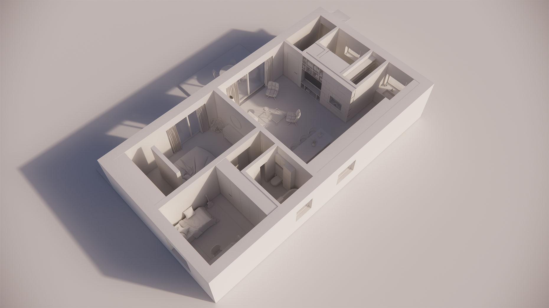 Katalógový dom S12 - Prízmené podlažie