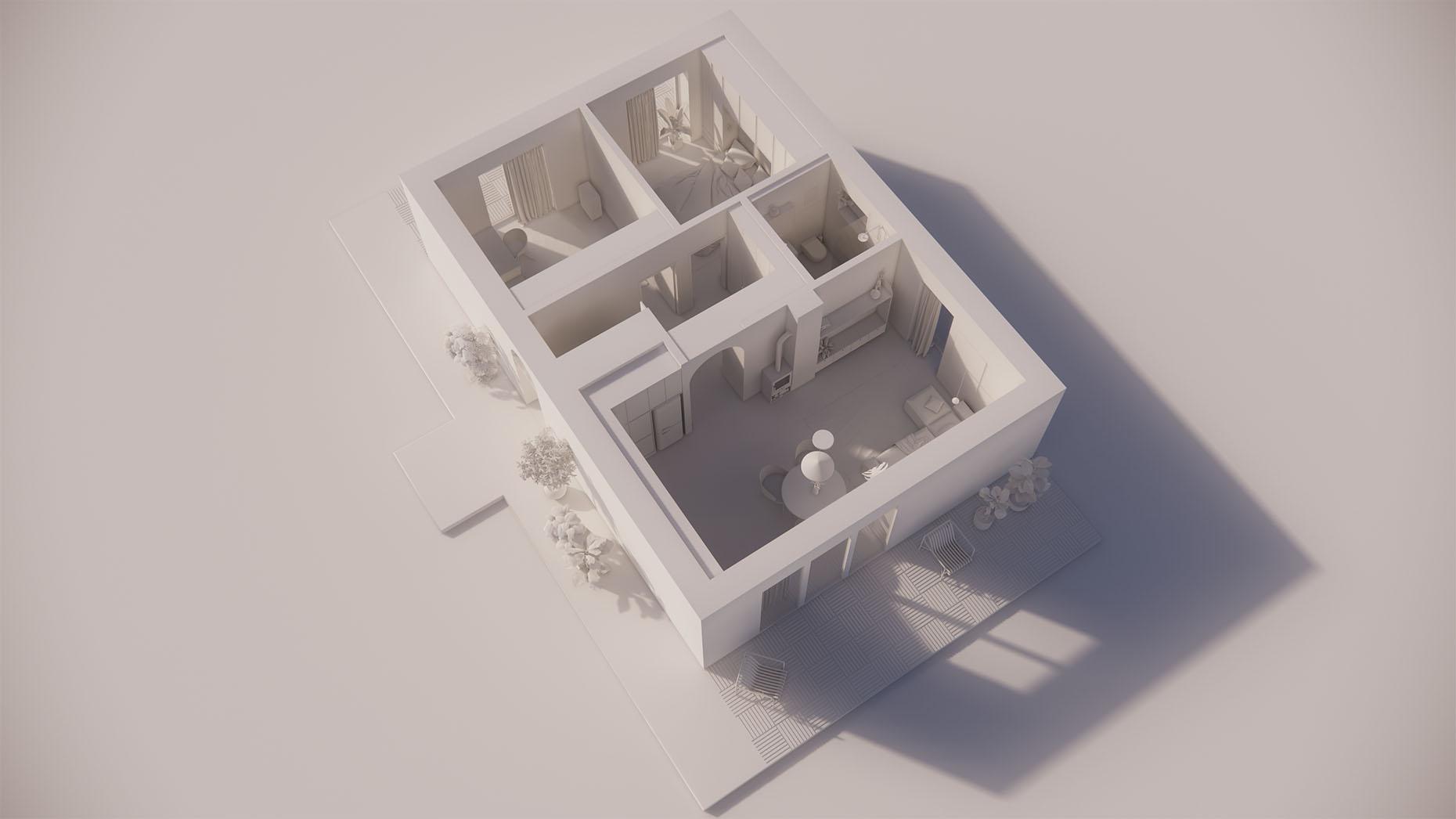 Katalógový dom V13 - Prízemné podlažie