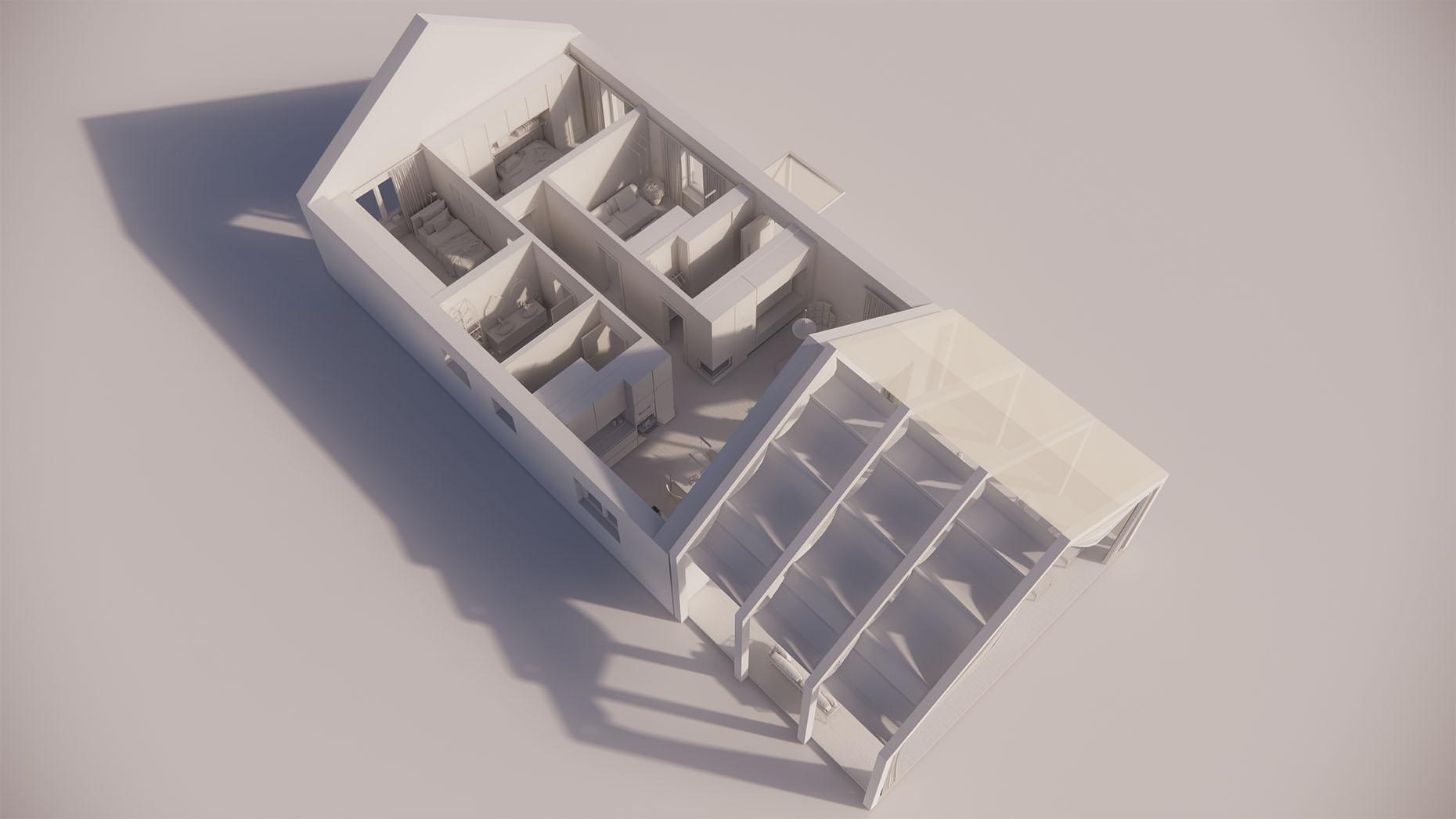 Katalógový dom S16 - Prízemné podlažie