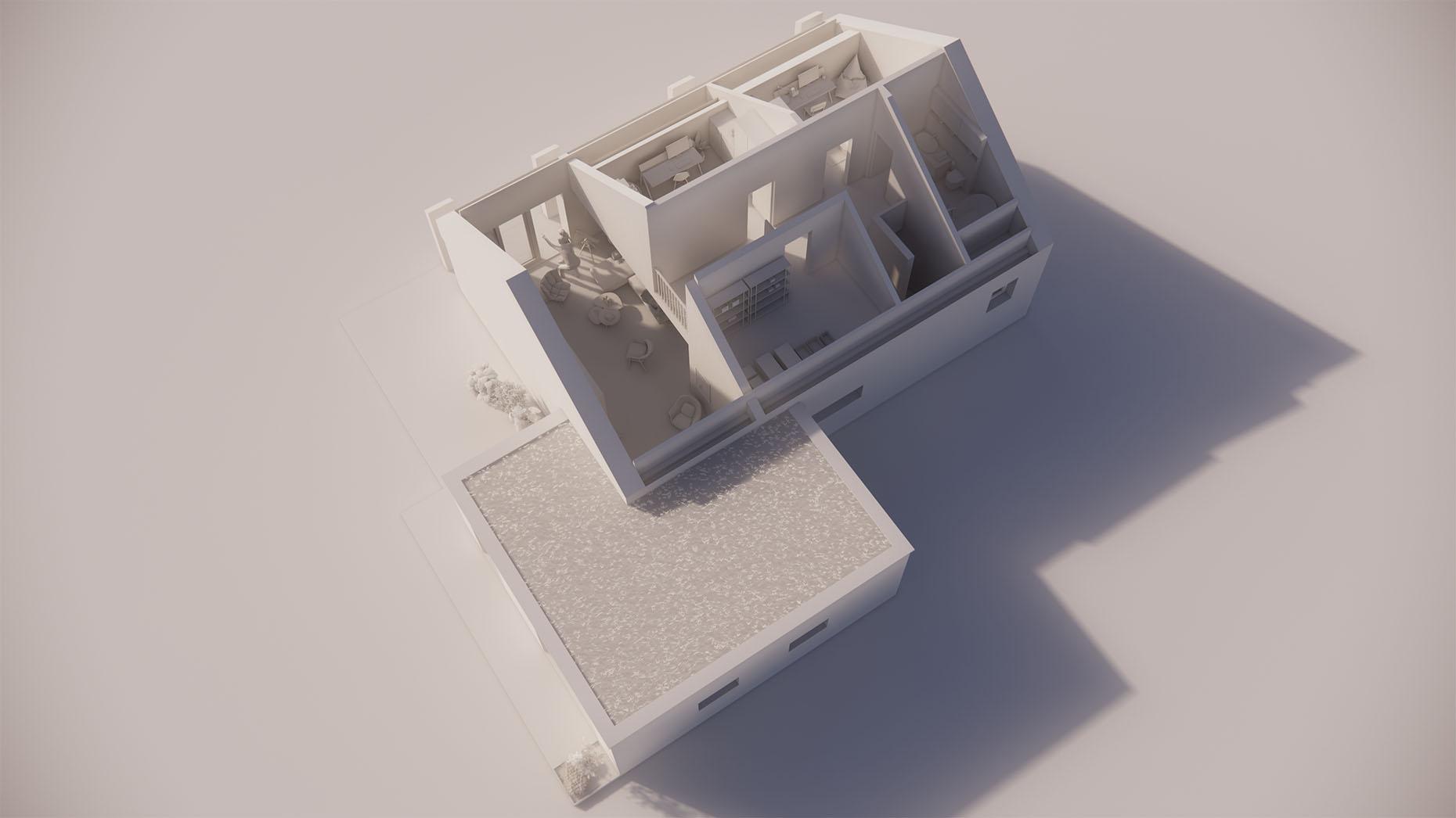 Katalógový dom K24G - Nadzemné podlažie