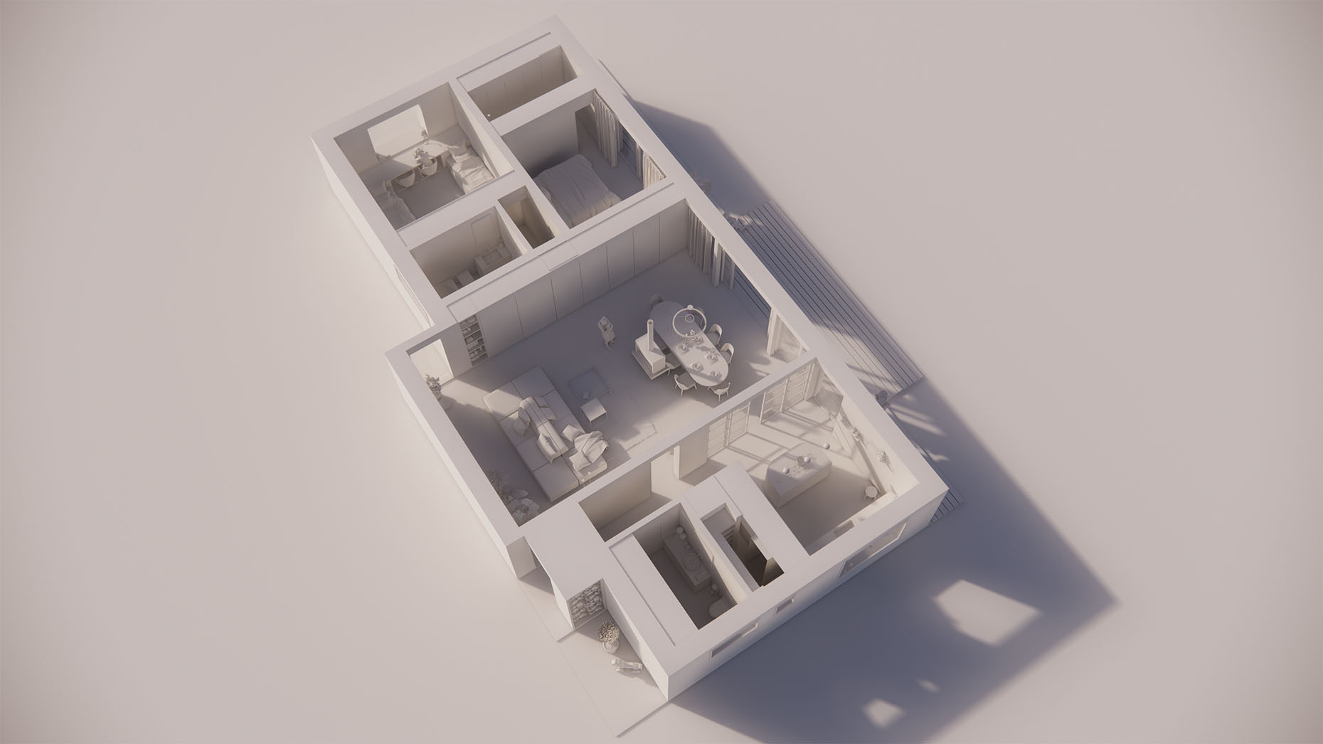 Katalógový dom V111 - Prízemné podlažie