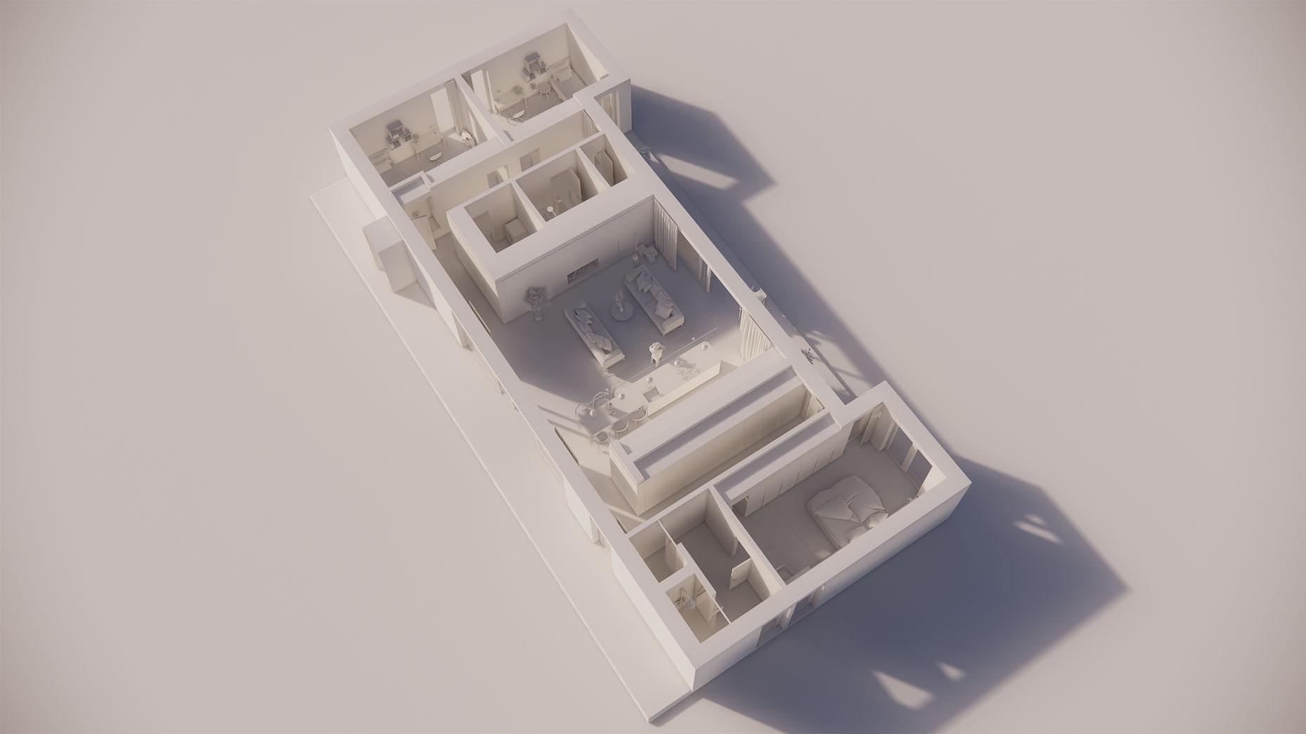 Katalógový dom P16 - Prízemné podlažie