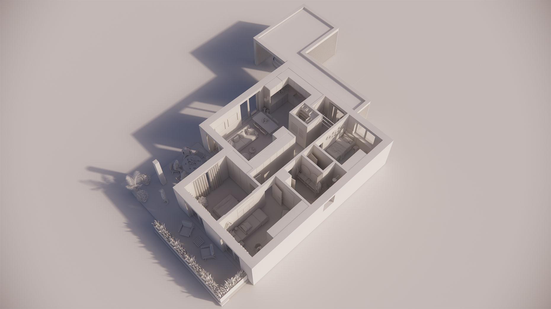 Katalógový dom V14P - Prízemné podlažie