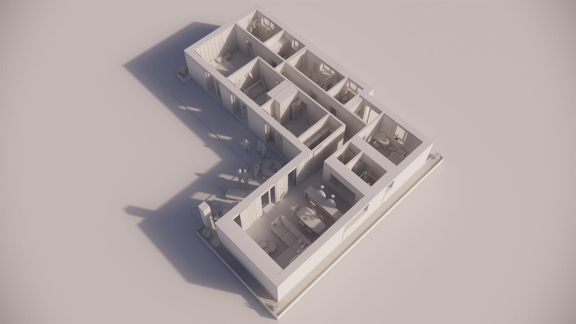 Katalógový dom V17 - Prízemné podlažie