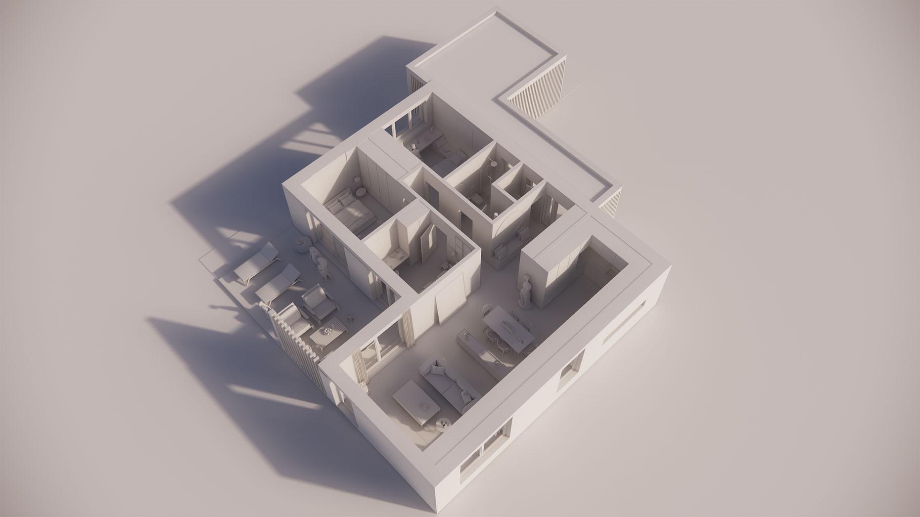 Katalógový dom V12P - Prízemné podlažie