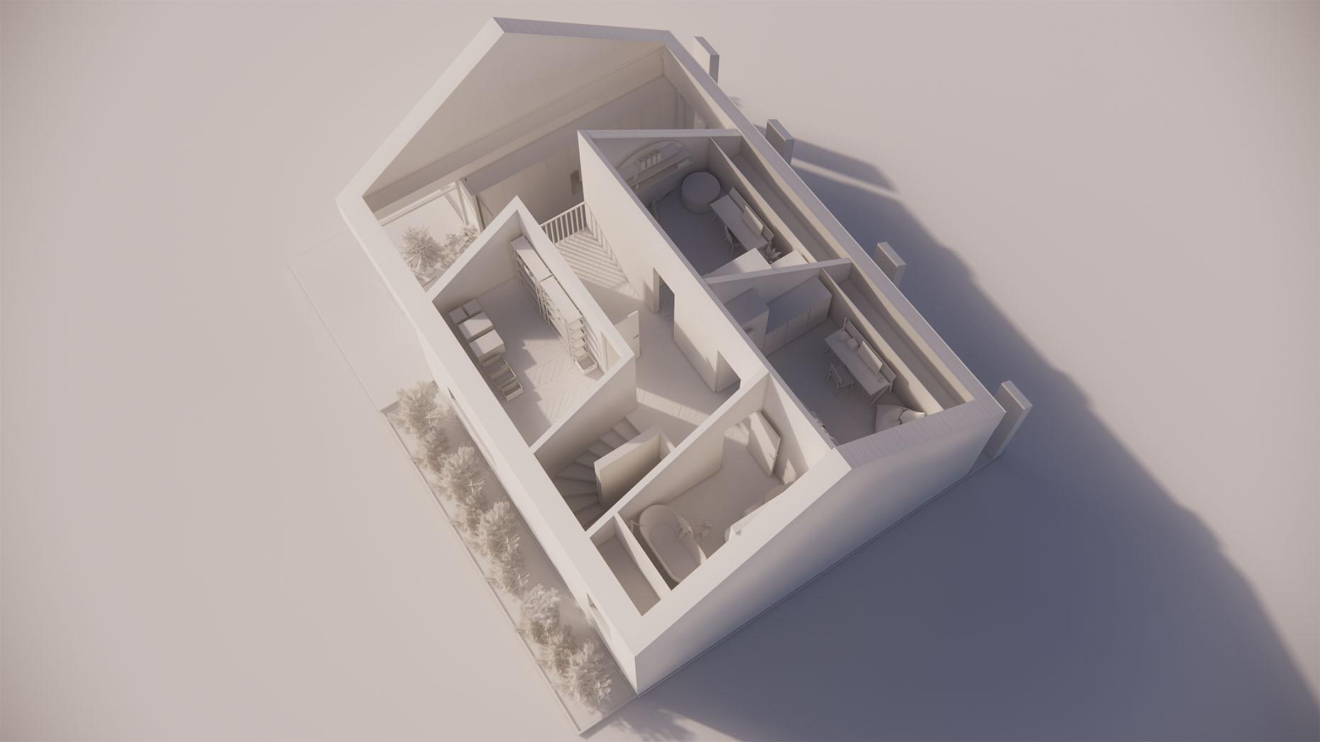 Katalógový dom S24 - Nadzemné podlažie