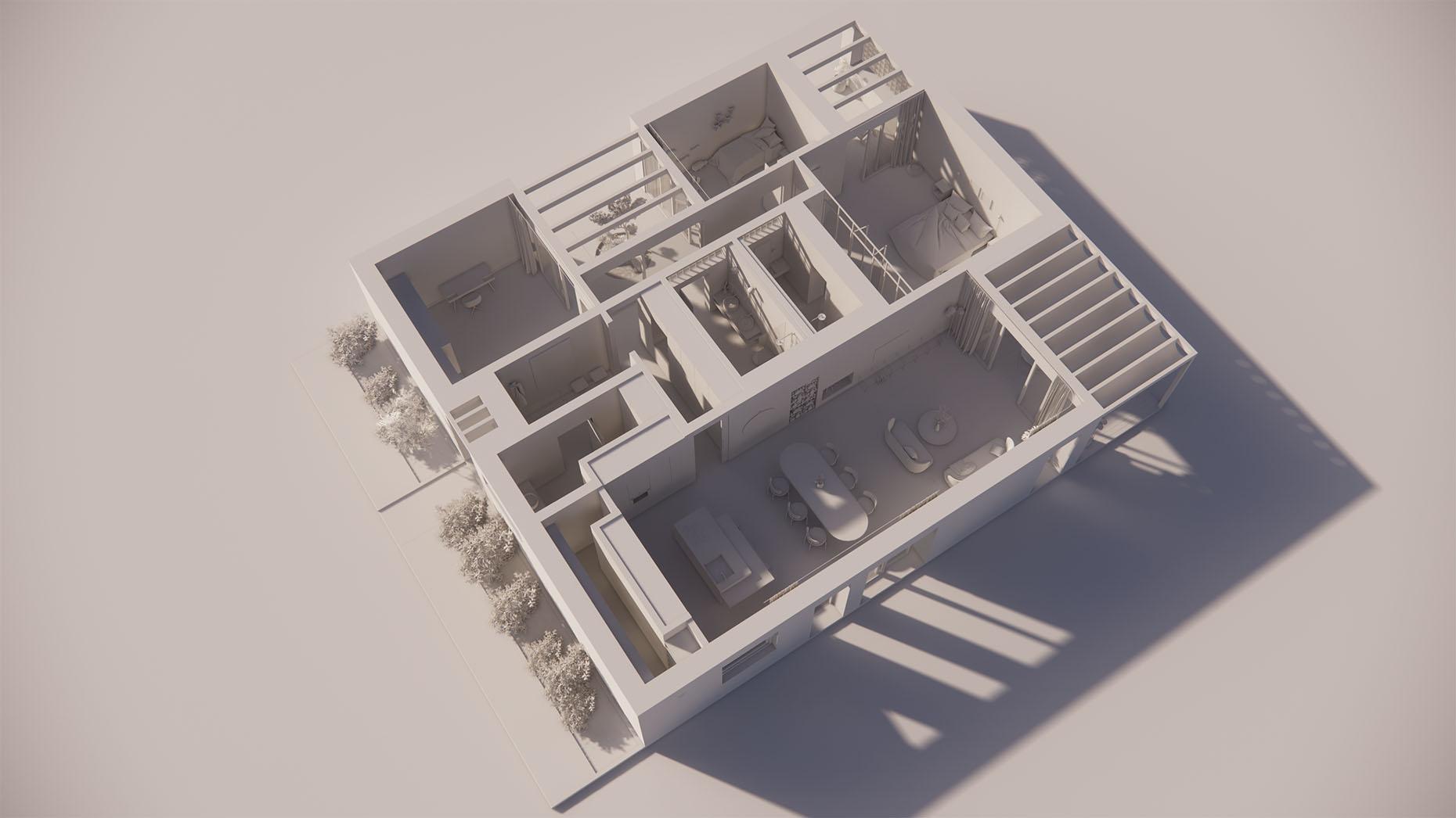 Katalógový dom P17 - Prízmené podlažie