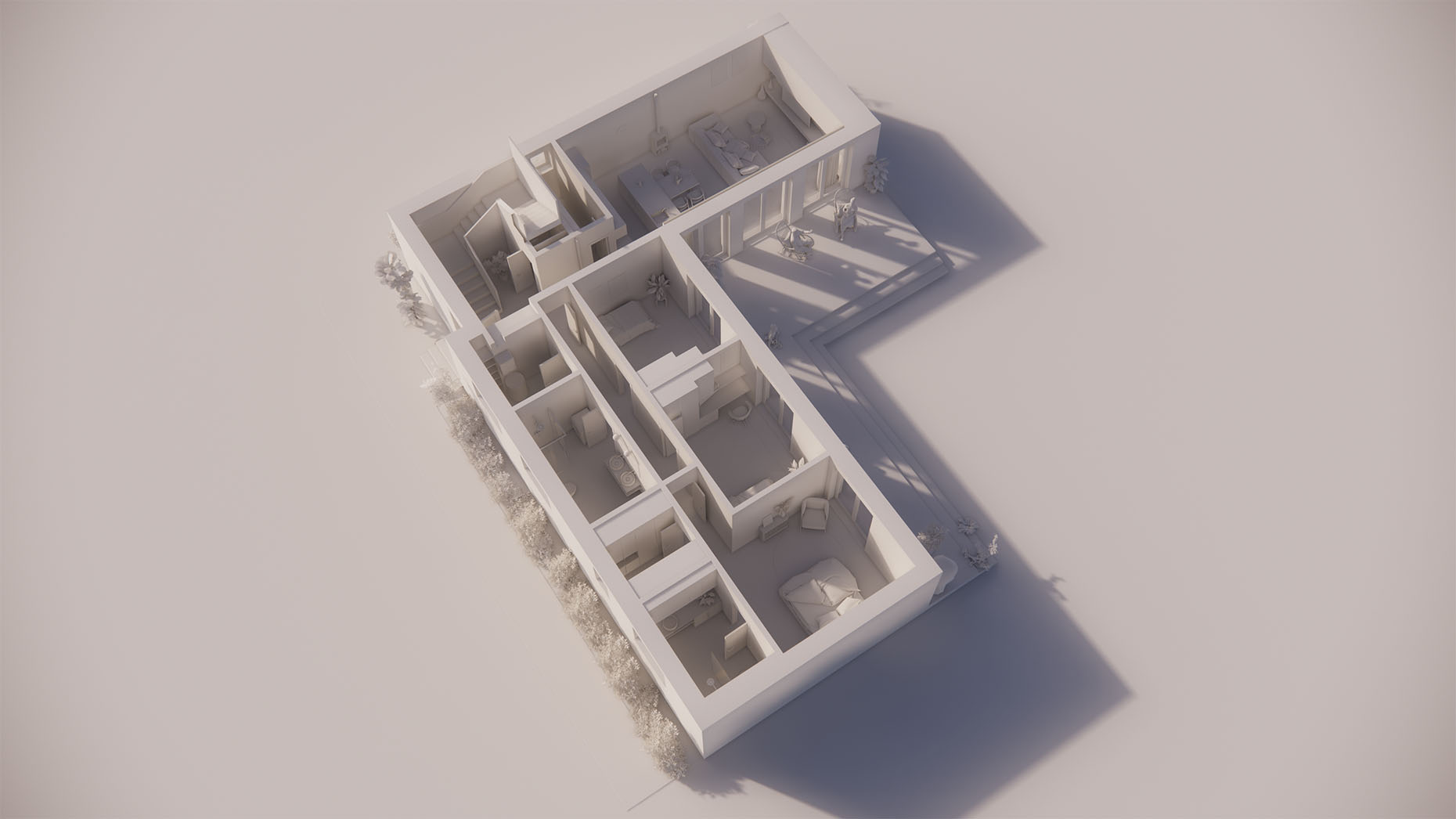 Katalógový dom K21 - Prízemné podlažie