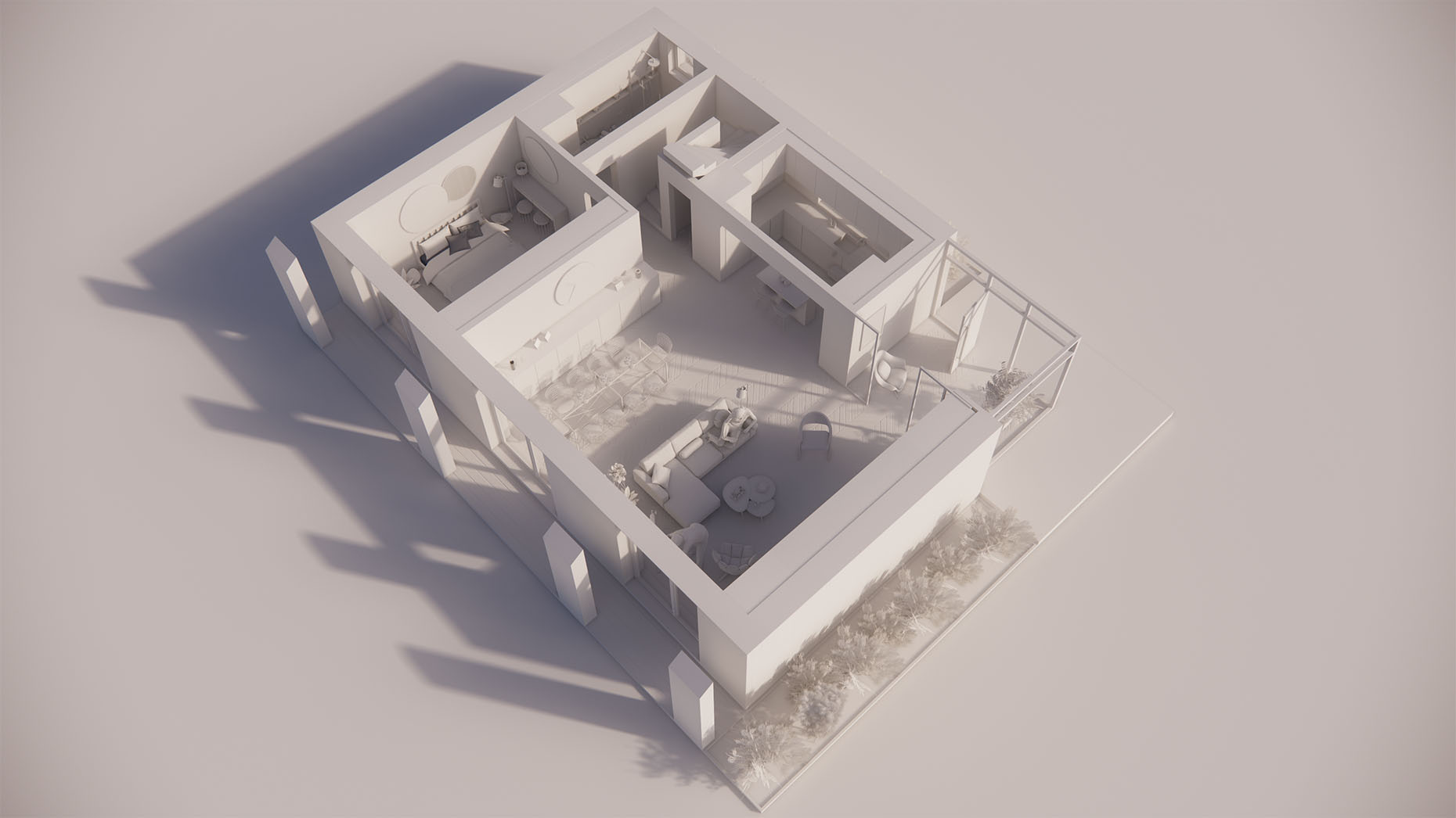 Katalógový dom S24 - Prízemné podlažie