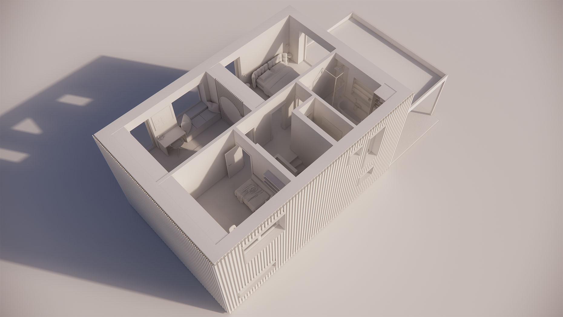 Katalógový dom P24 - Nadzemné podlažie