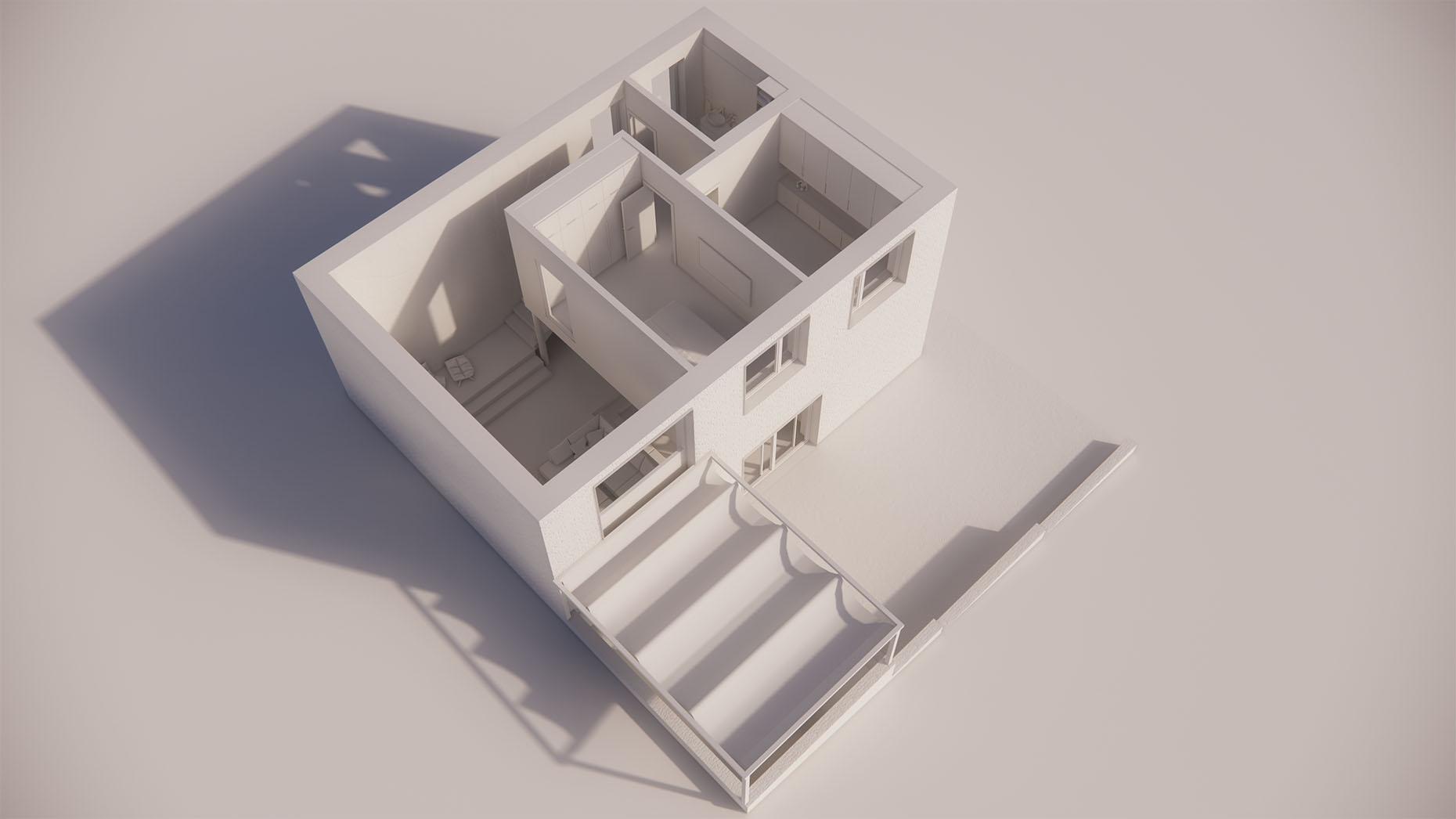 Katalógový dom P25 - Nadzemné podlažie