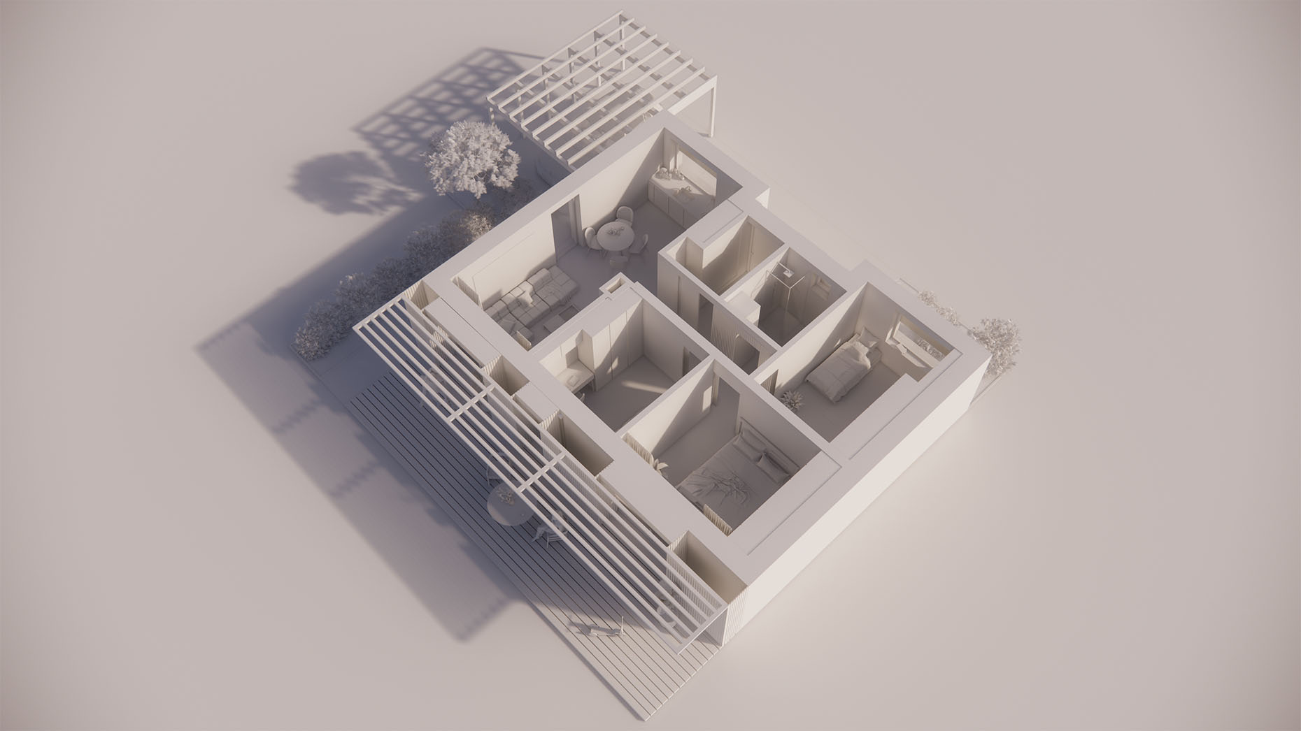 Katalógový dom V11P - Prízemné podlažie