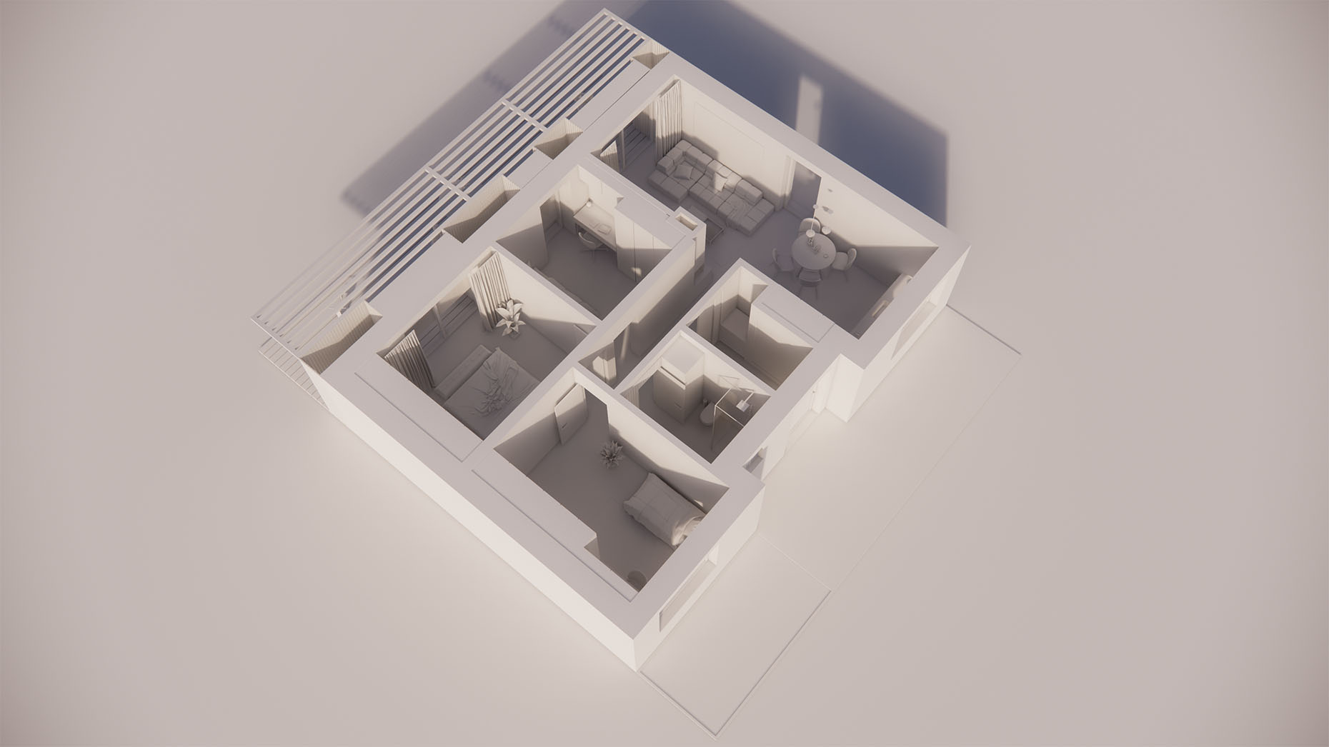 Katalógový dom V11 - Prízemné podlažie