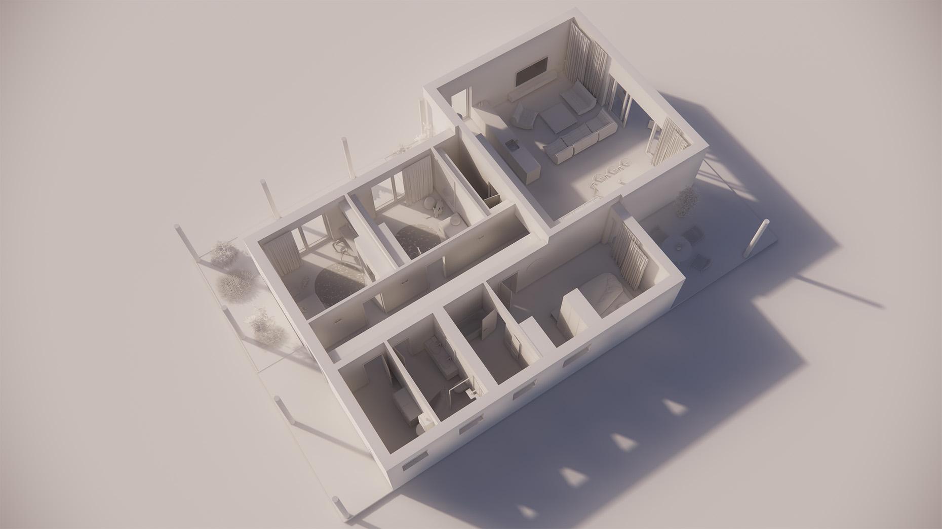 Katalógový dom P114 - Prízemné podlažie
