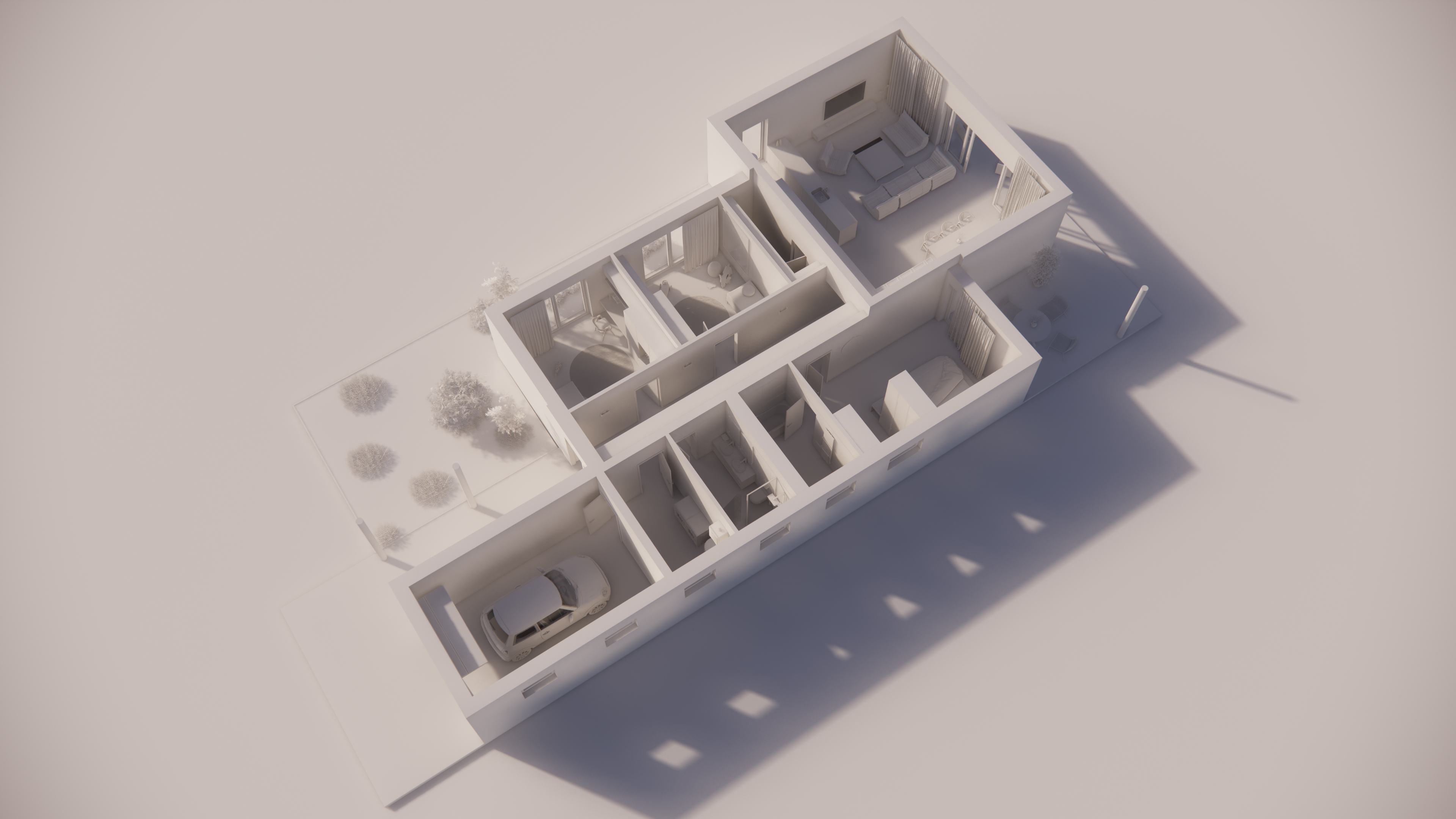 Katalógový dom P114G - Prízemné podlažie